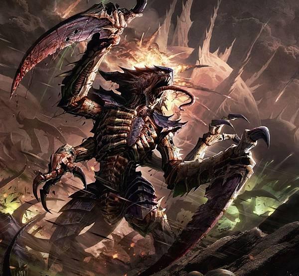 tyranids-warhammer-40000-фэндомы-art-1016413