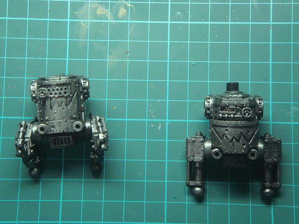 歐克蠻人鐵罐機器人