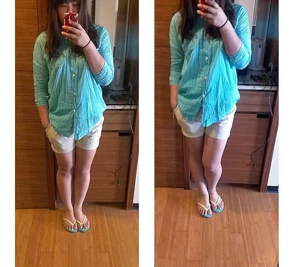 棉麻短褲2