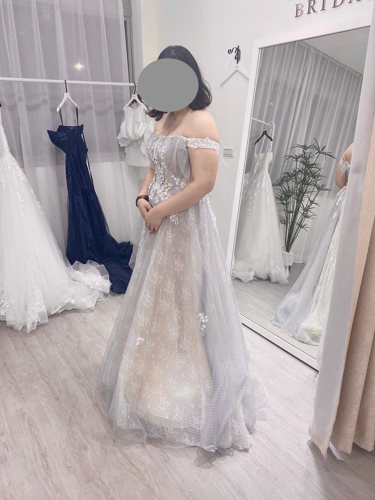 [分享] 台北婚紗 有肉試穿/IAM Bridal