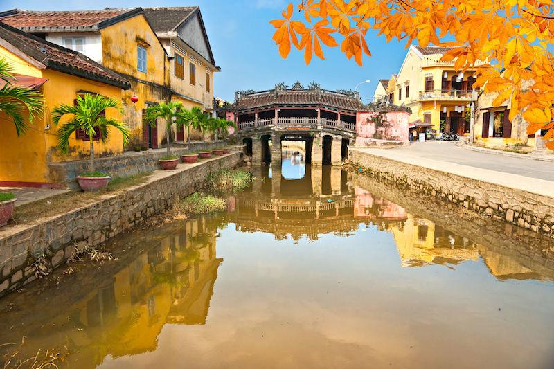 日本橋會安。越南