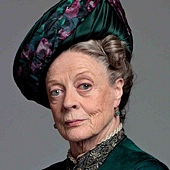MAggie Smith as Dowager Countess of Grantham.jpg