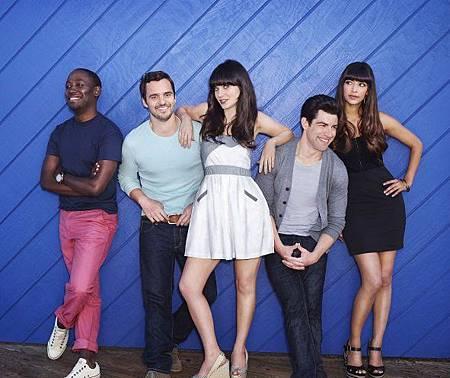 New Girl S02 cast