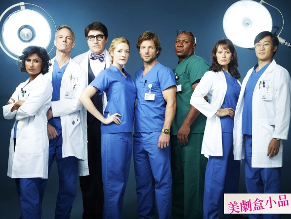 Monday Mornings S01 cast (1)