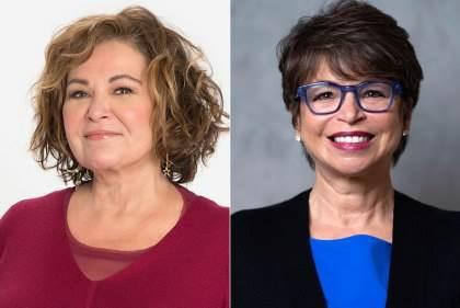 Roseanne Barr(左)Valerie Jarrett(右).jpg