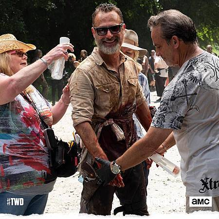 The Walking Dead set (3)