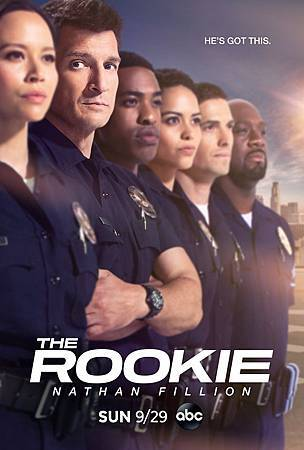 The Rookie S2 poster