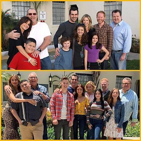 Modern Family 10 years ago