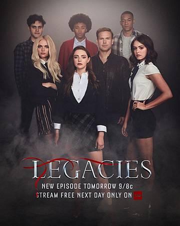 Legacies S2 poster