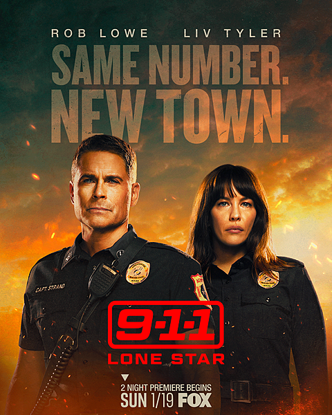 9-1-1 Lone Star S1 poster