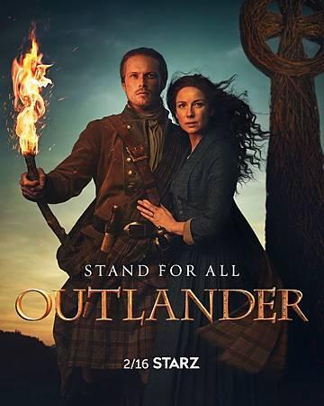 Outlander S5 poster