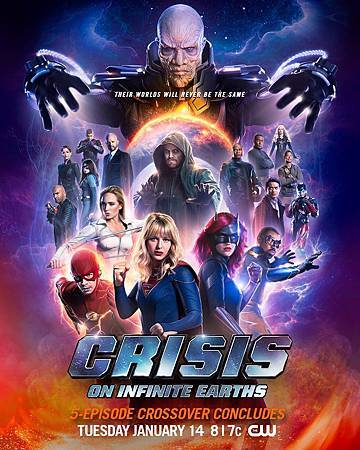 Crisis On Infinite Earths poster