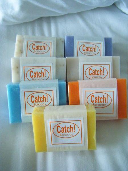 昨天買的catch手工皂