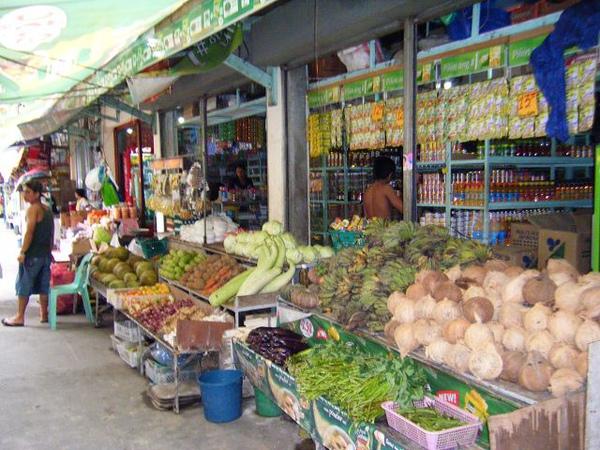 有賣菜賣水果