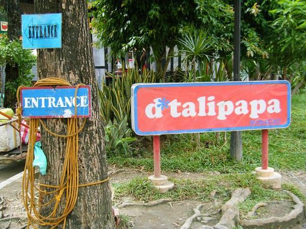 D'talipapa離飯店超近