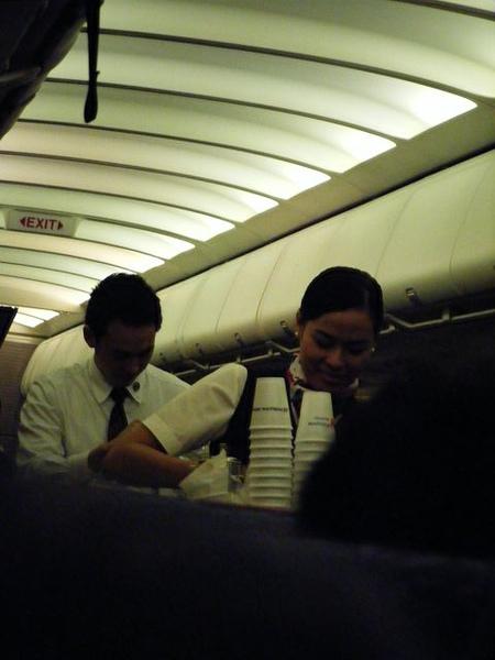 空姐空少要來到咖啡了