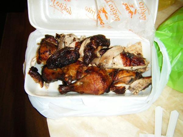 今天買了Andok's烤全雞