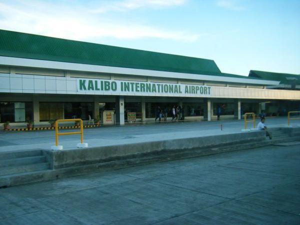 號稱是國際機場的Kalibo