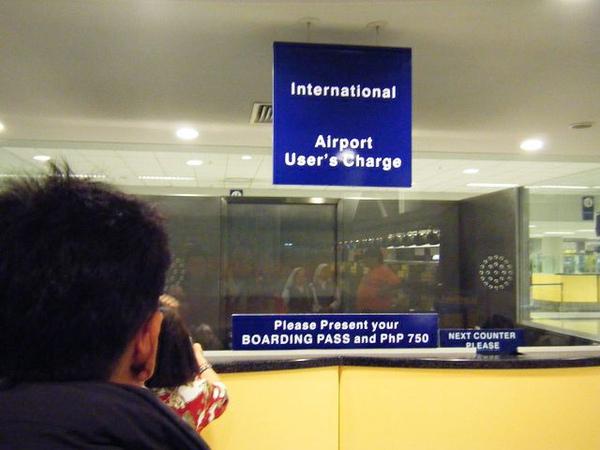 外國人買離境稅櫃檯