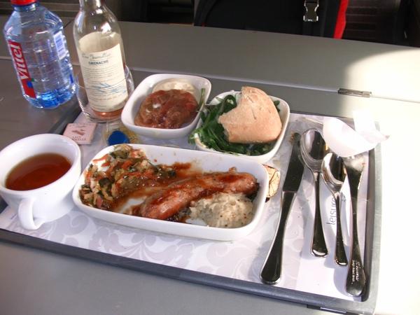 歐洲之星的豪華午餐(倫敦到巴黎的火車).jpg