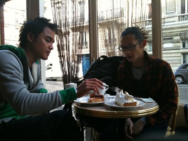 4~巴黎的生活喝咖啡吃甜點.JPG