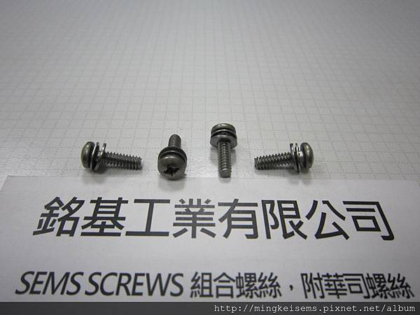 套華司螺絲SEMS SCREWS 白鐵圓頭螺絲套內齒華司和平華司組合M6#X1/2 STAINLESS STEEL PAN HEAD SCREWS WITH INTERNAL TOOTHED LOCK WASHERS ASSEMBLIES