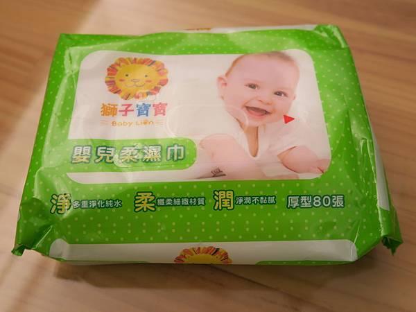 獅子寶寶嬰兒純水柔濕巾