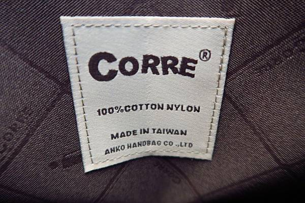 CORRE 台灣手工帆布包
