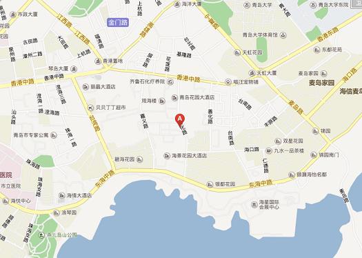201405青島map