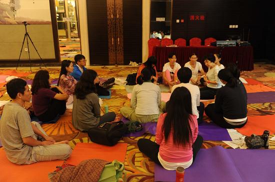 201408瀋陽五大元素與心靈轉化瑜伽師資回憶2-3