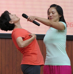 邱顯峰昆明瑜伽呼吸法與身印法教師認證班精采回憶2-5
