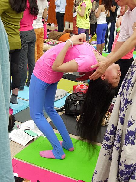 邱顯峰昆明瑜伽呼吸法與身印法教師認證班精采回憶2-9