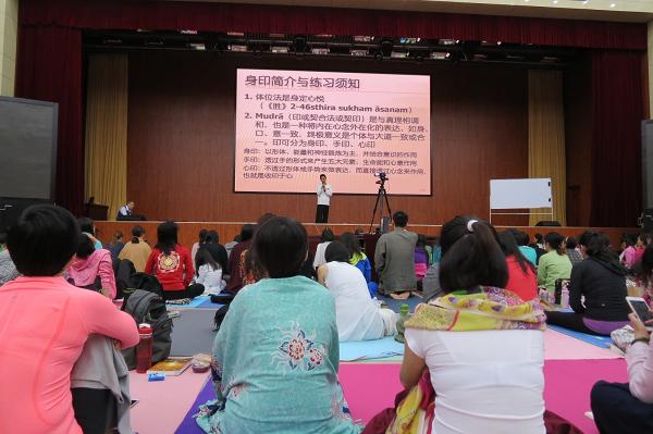 邱顯峰昆明瑜伽呼吸法與身印法教師認證班精采回憶2-13