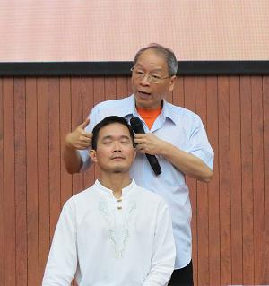 邱顯峰昆明瑜伽呼吸法與身印法教師認證班精采回憶2-15