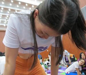 邱顯峰昆明瑜伽呼吸法與身印法教師認證班精采回憶2-29
