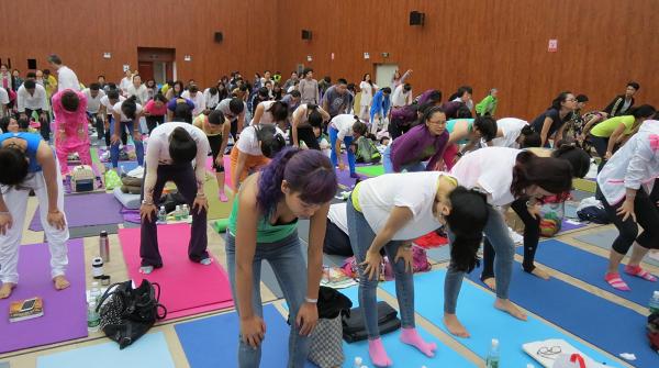 邱顯峰昆明瑜伽呼吸法與身印法教師認證班精采回憶2-27