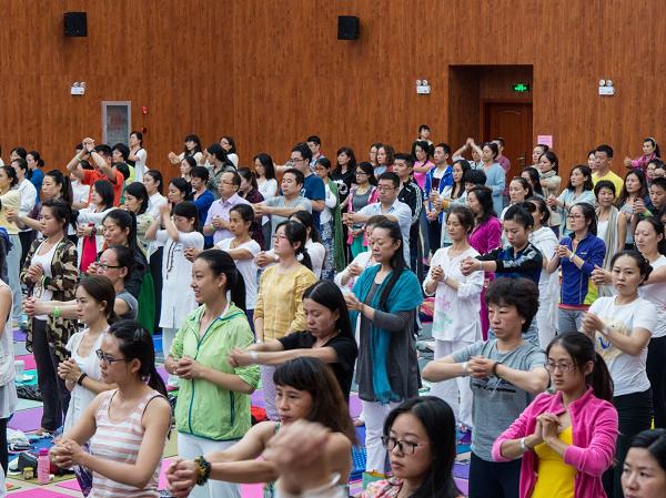 邱顯峰昆明瑜伽呼吸法與身印法教師認證班精采回憶2-38