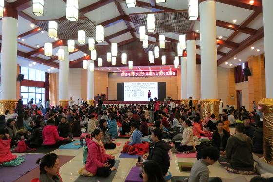 邱显峰长沙脉轮与拙火瑜伽初级教师认证班精采回忆一-9