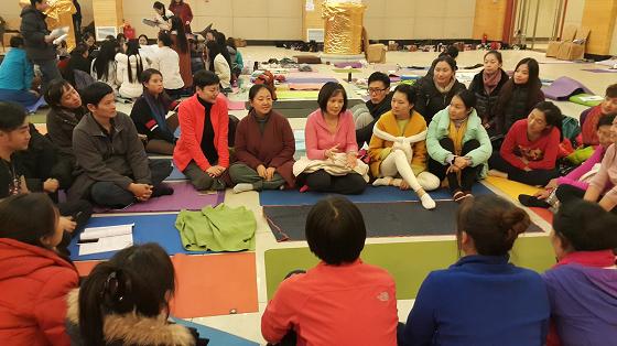 邱顯峰長沙脈輪與拙火瑜伽初級教師認證班精采回憶二- (37)