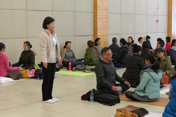 邱显峰长沙脉轮与拙火瑜伽初级教师认证班精采回忆三-3