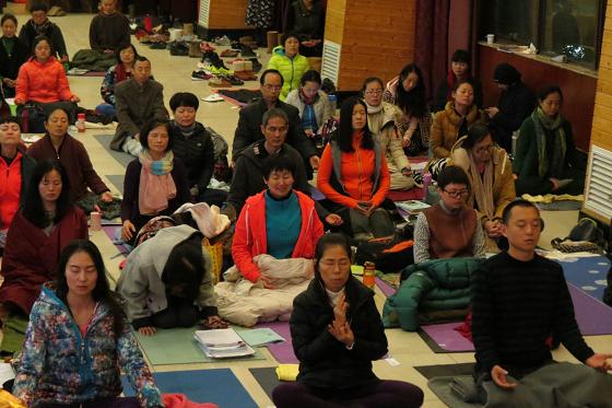 邱显峰长沙脉轮与拙火瑜伽初级教师认证班精采回忆三-11