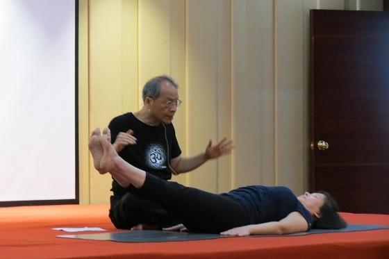 201607邱顯峰黃山脈輪與勝王瑜伽中級教師認證班精采回憶2-18