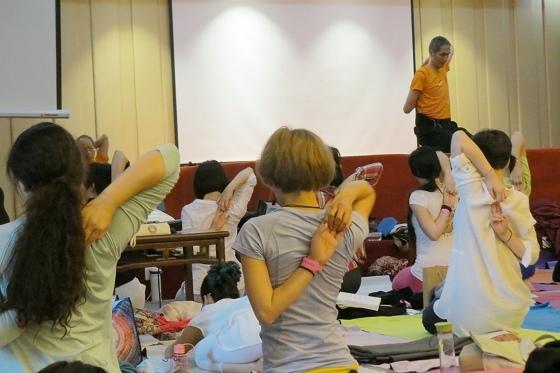 201607邱顯峰黃山脈輪與勝王瑜伽中級教師認證班精采回憶2-12