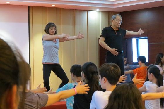 201607邱顯峰黃山脈輪與勝王瑜伽中級教師認證班精采回憶2-17