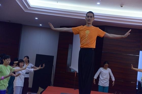 201607邱顯峰黃山脈輪與勝王瑜伽中級教師認證班精采回憶2-11