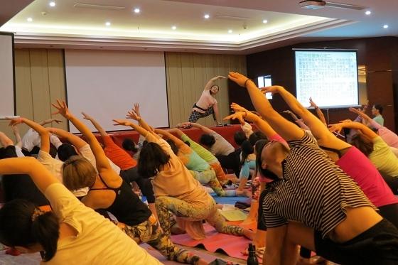 201607邱顯峰黃山脈輪與勝王瑜伽中級教師認證班精采回憶2-28