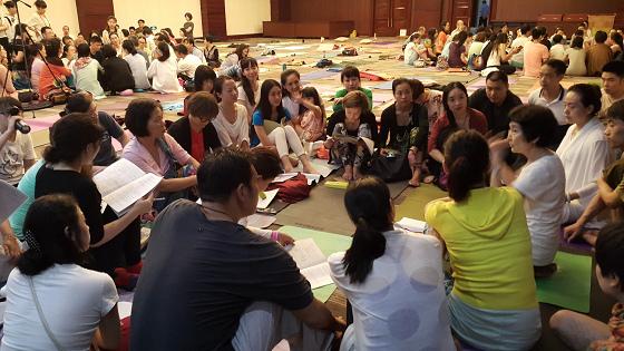 201607邱显峰黄山脉轮与胜王瑜伽中级教师认证班精采回忆3-8
