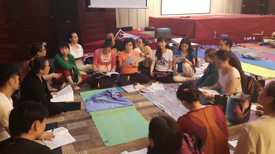 201607邱显峰黄山脉轮与胜王瑜伽中级教师认证班精采回忆3-6