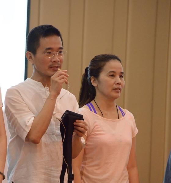 201607邱显峰黄山脉轮与胜王瑜伽中级教师认证班精采回忆3-9
