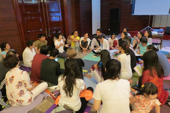 201607邱显峰黄山脉轮与胜王瑜伽中级教师认证班精采回忆3-7